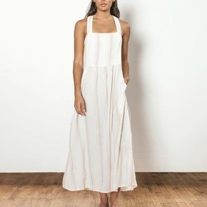 Ace & Jig | Willa Pastel Striped Maxi Dress New